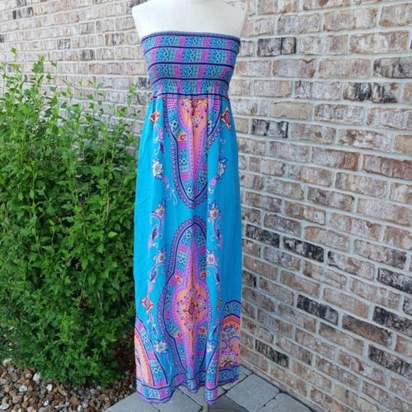 Flying Tomato Rayon Design Dress